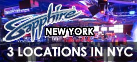 Sapphire Gentlemens Club in New York City