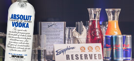 Starting Bottle Service Strip Club Package