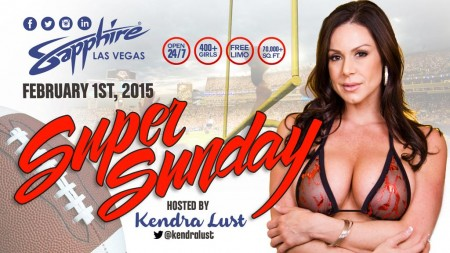 Kendra Lust Hosts Super Sunday