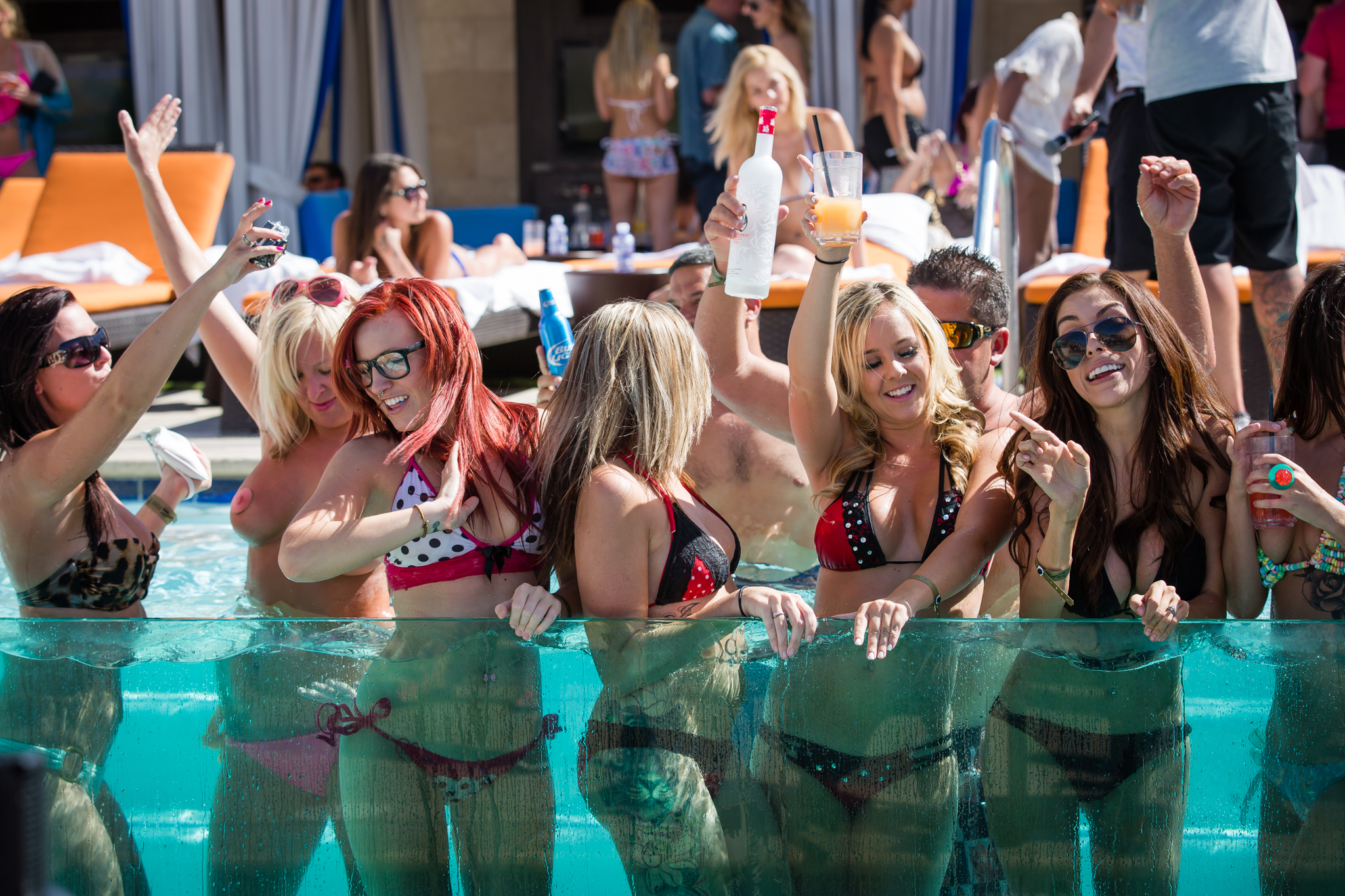 Bare pool is the best and most exclusive pool party in las vegas