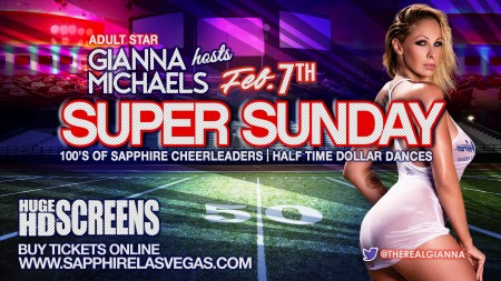 Watch the Super Bowl at Sapphire Las Vegas