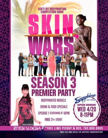 Skin Wars Season 3 Premiere Party
